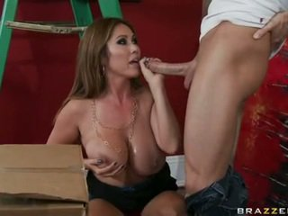 Sensuous Momma Kianna Dior Is Pipeing That Guyr Fellow's Testicles Around So Much Joy