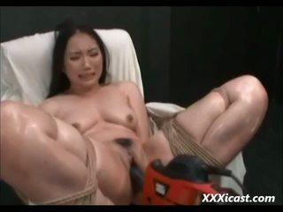 Ázsiai készült hogy orgazmus -val teljesítmény tools videó