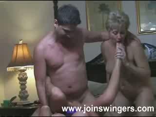 echt swingers, echt grootmoeder porno, oud mov