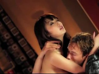 Asian beauty Marika Hase snatch banged