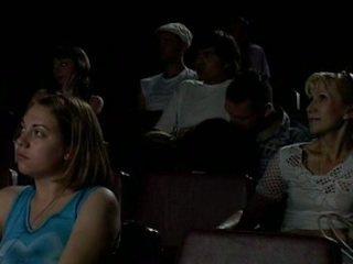 Trong các rạp chiếu phim