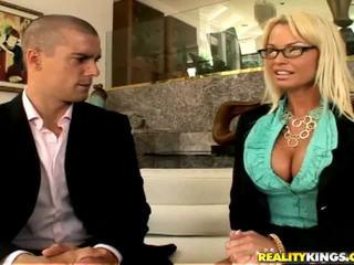 glasses channel, ideal sex porno, best big tits thumbnail