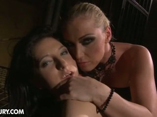 Kathia Was Able To Lure Melyssa Inside Her Basement Dungeon....