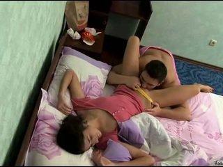 bedroom sex, heet slapen scène, hq sleeping porn tube