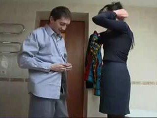 Ruský zralý hrubý pohlaví