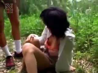 Á châu nư sinh turned giới tính nô lệ gets lạm dụng trong lõi cứng