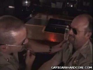 Homo Bear Cops Hit It Off