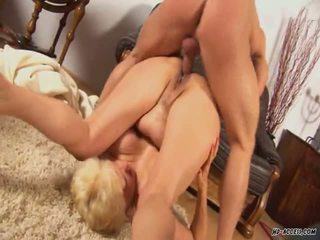 Granny Around Big Jugs Bumped Inside All Positions