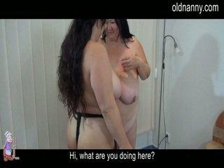 Elder meningkat usia striptease dan lesbie lucah