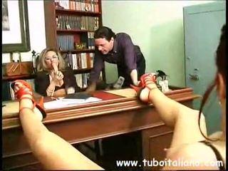 lezbijka, amatoriale, italian