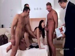 laski, sypialnia, wielki seks grupowy świeży