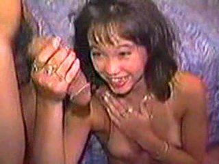 Japanese girl scared of dick