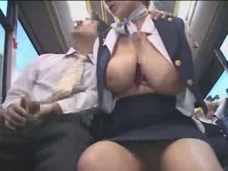 Hot amérika rumaja groped in japan publik bis video