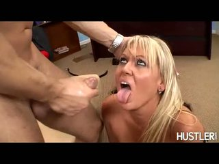 Scorching Chennin Blanc Gladly Gets A Hot Ooze Of Cock Load On Her Mouth