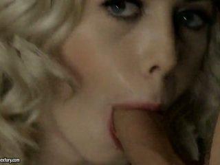 Sensuous Blonde Isabella Clark Sucks 2 Tackles