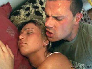 Mature abused while sleeps Video