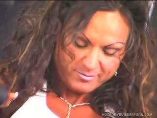 Rhonda Lee Works Rod Fontana's Love Muscle