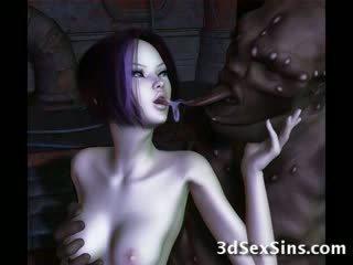 Ogres nailing 3d elf niñas!