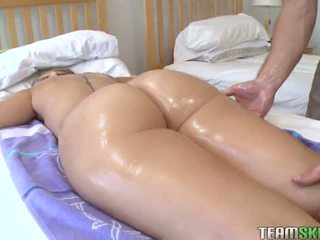 TheRealWorkout Big ass blonde Nikki Stone hardcore fucked