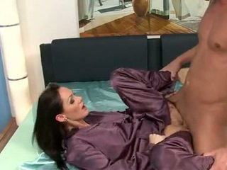 Cynthia Vellons Bend Onto Satin Daysofa And Have Her Ass Get Laid