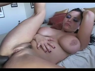 MILF Interracial Anal in Leather Corset