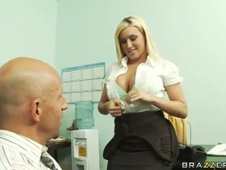 Hot Boss Memphis Monroe Has Hardcore Sex In Office Video