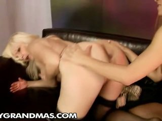 Sabrinka Works As A Social Worker Around Mature Ladies. When She...