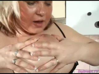 ideaal mollig actie, een rondborstige blonde katya mov, big boobs reveiw vid