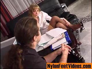 DiAna And Lesley Mindblowing Nylon Feet Movie Scene
