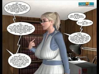 cartoons gepost, 3d comics vid