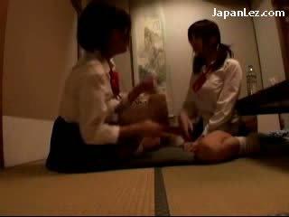 schattig, zien japanse, heetste lesbiennes film
