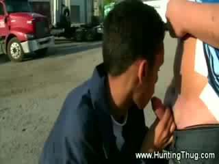 Its not the first Cock this guy is sucking on for some money