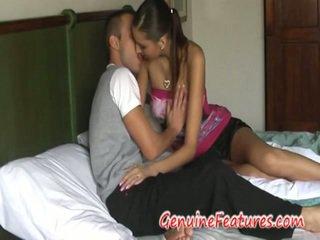 Tikras mėgėjiškas couples lovers having dulkinimasis