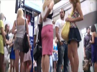 アップスカート, 1内のすべてのポルノクリップ, 一人の女の子の二重コック