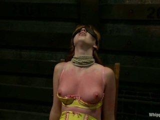 Pale Skinned Marie McCray In Lesbie Bondage