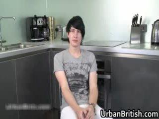 Teen Alex Harler Wanking His Priceless Homosexual Cock 1 By Urbanbritish