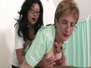 Femdom fetish mature nurses russian spunk shot