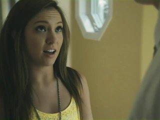 brunette, kijken jong actie, plezier tieners thumbnail