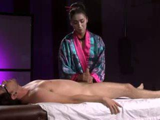 Beautiful Asian Geisha (Full Massage with Footjob)