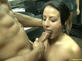 controleren brunette video-, schattig seks, neuken