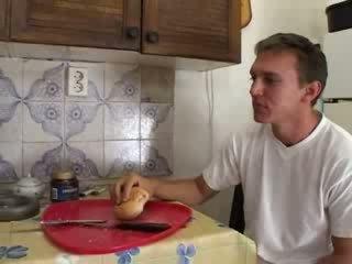 Granny Hardcore Fucked In The Kitchen Video
