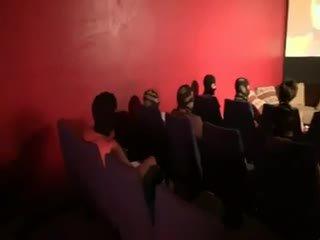 brünette, gruppen-sex, französisch, blowjob