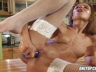 Horny Babe Angela Winters Thumping Her Moist Muff With Her Much Loved Toy