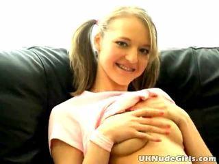 ideaal tiener sex, groot jong film, kwaliteit blondjes neuken