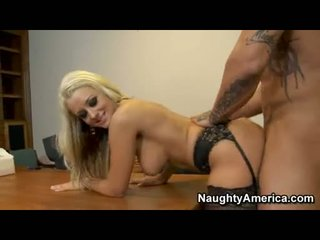 Delicious Brandy Blair Acquires A Hot Reward Of Coco Sauce In Her Lusty Mouth