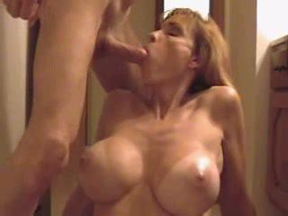 redhead, big tits, quality cumshot all