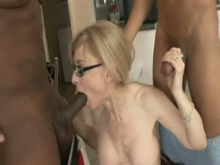 glasses you, anal, interracial hot
