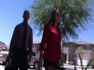 Kristina Cross Is Easily A Hottest Real Estate Agent We've Ever Seen! Look At That Body! Are You Shafting Kidding Me? She's A Hard Core Business Donna Willing To Do Whatever It Receives For A Sale,
