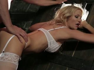 Wicked Pictures: Blonde bride jessica drake nailed hard