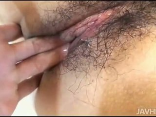 Hot Asian gang bang scene